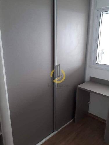 oportunidade - apartamento com 2 dormitórios à venda, 67 m² por r$ 494.000 - sacomã - são paulo/sp - ap0576