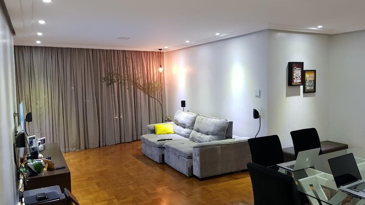 oportunidade apartamento largo do arouche 3 dorm 138m2