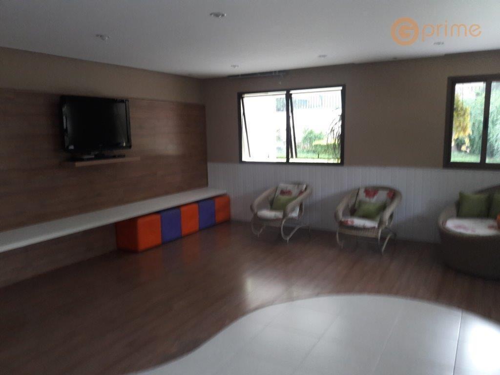 oportunidade apto bosque maia 130 m² - 3 suítes e 2 vagas - ap0119