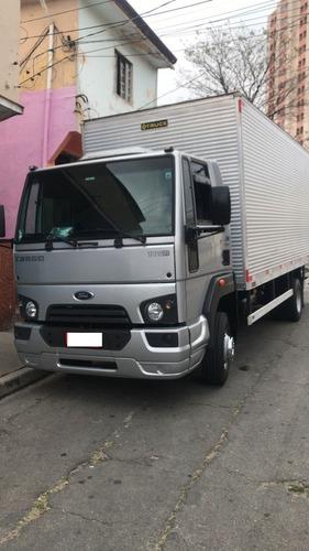 oportunidade caminhão 3/4 ford cargo 1119 baú com serviço