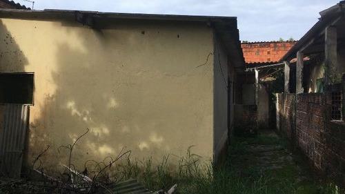 oportunidade! duas casa no mesmo terreno, em itanhaém-sp