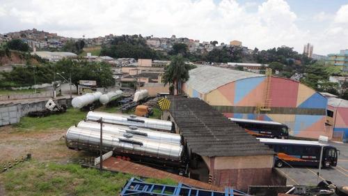oportunidade em excelente local  , 4000 m² por r$ 18.000/mês - demarchi - são bernardo do campo/sp - te0246