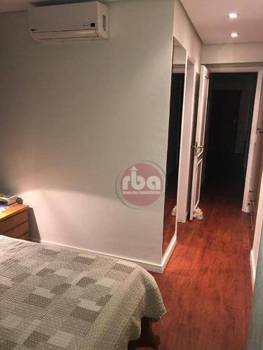 oportunidade! excelente apartamento de 93m² todo reformado, com ar condicionado em todos os ambientes. 3 dormitórios sendo 1 suite. impecável! - ap0755