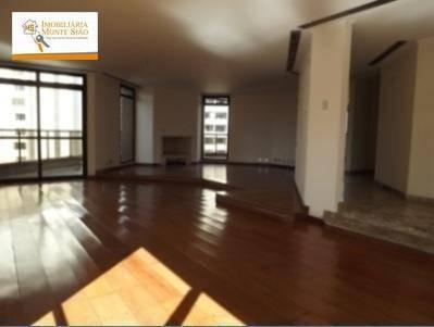 oportunidade no morumbi apartamento triplex com 4 dormitórios, 637 m² - morumbi - são paulo/sp - at0002