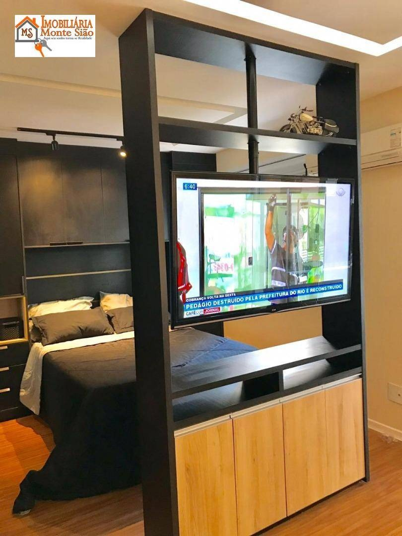 oportunidade próx. ao parque shopping maia apartamento com 1 dormitório à venda, 38 m²  - jardim flor da montanha - guarulhos/sp - ap1381