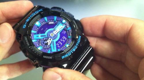 oportunidade! relógio casio g-shock ga-110hc-1adr (novo)