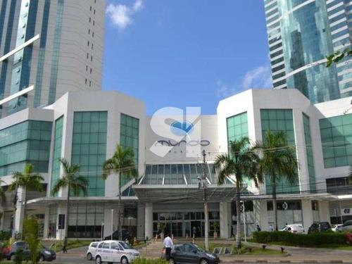 oportunidade  salas com  área 124,75 m²para aluguel no mundo plaza! - sl0864