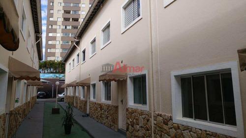 oportunidade! sobrado 2 dormitórios todo planejado na cid.lider - v7255