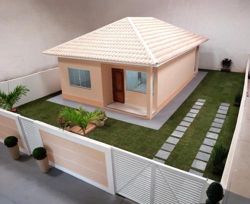 oportunidade única casas novas são pedro rj 2/3 qts + suíte