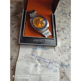 Oportunidade Única Seiko Pogue 6139-6002 C/ Caixa E Certific