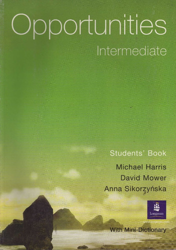 opportunities intermediate students' book nuevo oferta envio