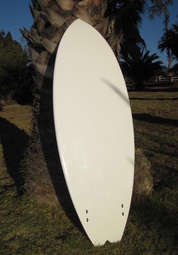 oprtunidad!!!! set fish board 5'10  tabla nueva/funda/leash