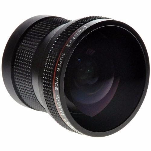 opteka hd2 0.20 x profesional af lente ojo de pez para canon
