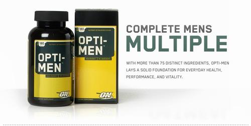 opti men multivitaminico y aminoacidos 90 tabs  optimum