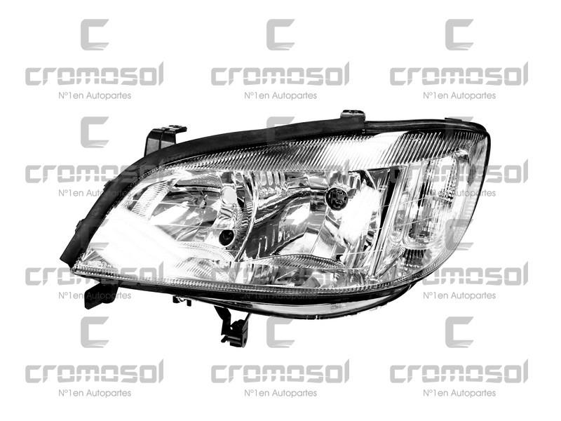 Optica Chevrolet Zafira F1 Izquierda Valeo 2001 Al 2003 11694
