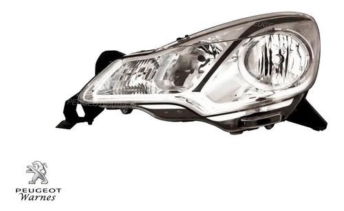 optica citroen ds3 izquierda lente liso original 2010/2014