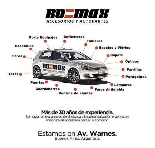 optica delantera ford fiesta kinetic 11/13 importada ro-max