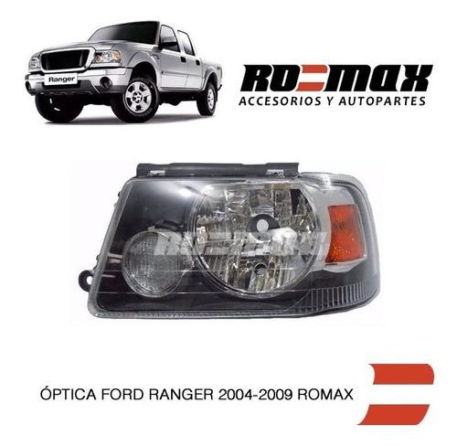 optica delantera ford ranger 2004 a 2009 warnes ro-max