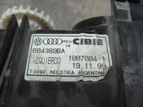 optica izq. vw polo 95/99