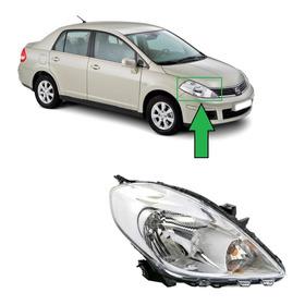 Optico Derecho Nissan Versa 2012 Al 2015