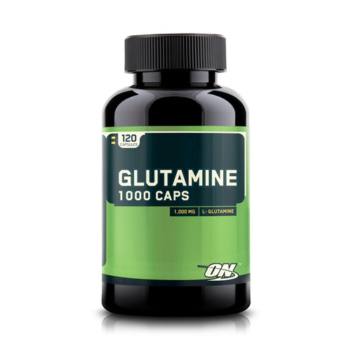 optimum nutrition glutamina 1000 caps 120 capsulas