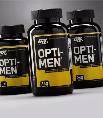 optimum nutrition opti-men multivitamínico 90 cápsulas
