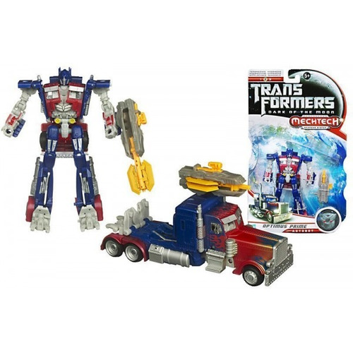 optimus prime dark of the moon mechtech deluxe class