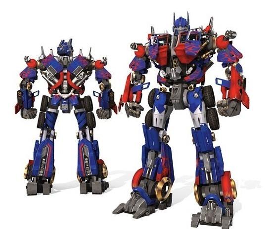 Optimus Prime Transformers Projeto Papercraft