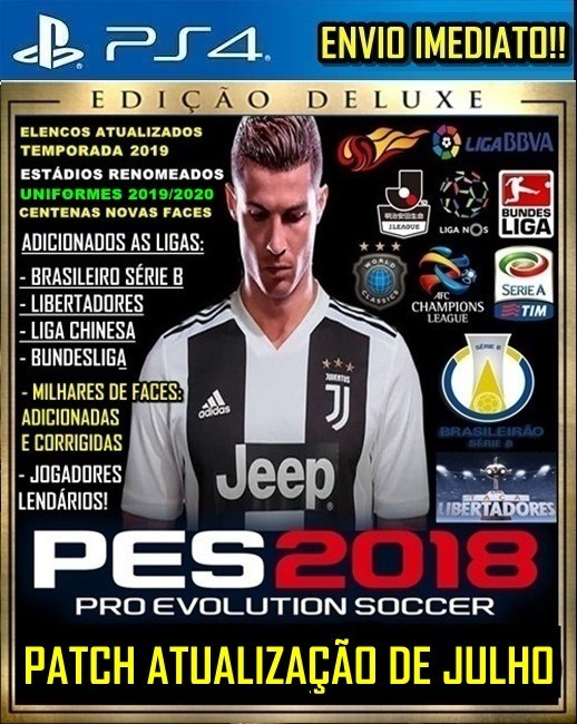 Option File Patch Pes 18 Ps4 Elencos Nova Temporada 2019 19