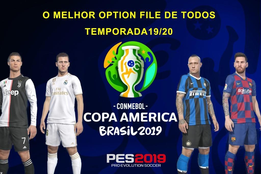 Pes 2019 Option File