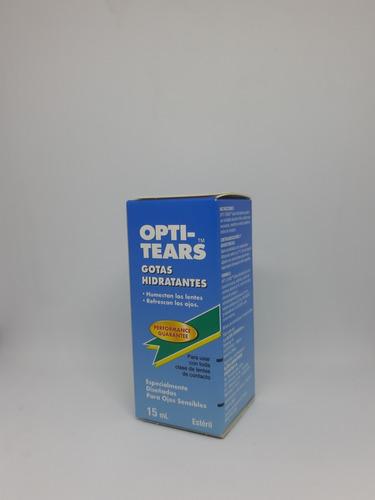 optitears lagrimas, gotas hidratantes para ojos sensibles