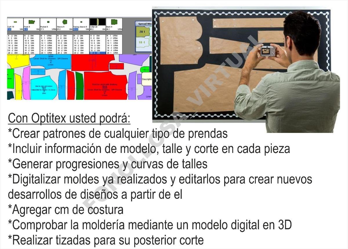 Optitex Pds 10 Full Español Diseño De Patrones Envío Gratis - $ 299 ...