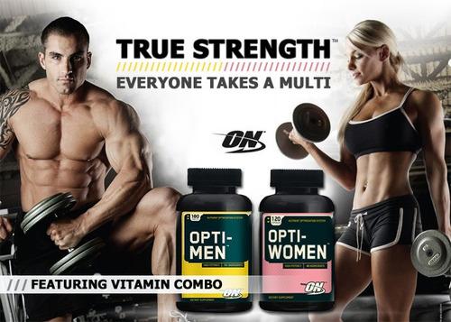 optiwoman 120 capsulas vitaminas optimum nutrition