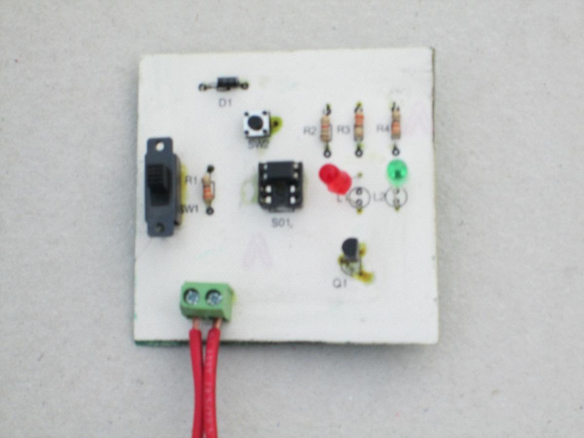 Circuito Optoacoplador : Optoacoplador probador de kit para armar $ 125.00 en mercado libre