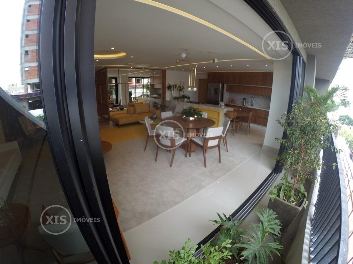opus araguaya, apartamento 3 suites, setor marista