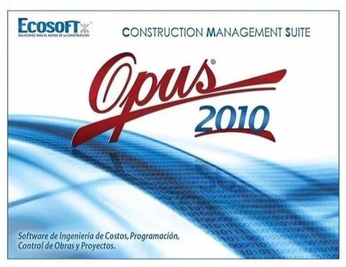 opus cms 2010 (32 y 64 bits) + instalación