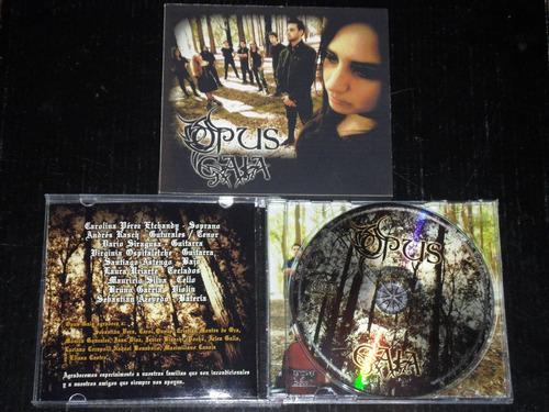 opus gaia - 2013 symphonic metal desde uruguay