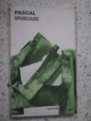 opusculos de pascal aguilar filosofia