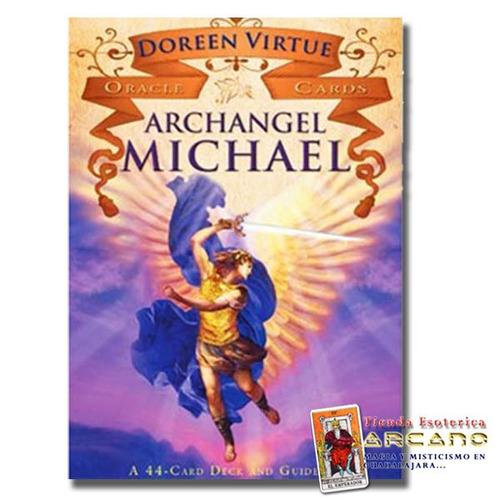 oraculo arcangel miguel - doreen virtue - 44 cartas y guia