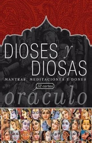 oráculo de tarot dioses y diosas - libro y cartas de tarot