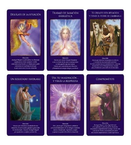 oráculo del arcángel miguel 44 cartas y libro -doreen virtue