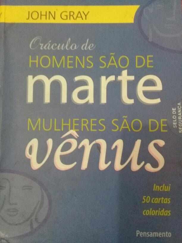 c66225179 oráculo homens são de marte mulheres são de vênus - john gra. Carregando  zoom.