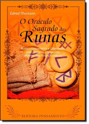 oráculo sagrado das runas (o) de edred thorsson