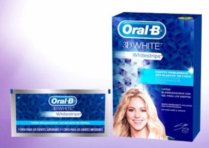 oral b 3d white blanqueamiento dental whitestrips s. Black Bedroom Furniture Sets. Home Design Ideas