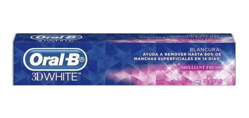 oral-b 3d white brilliant fresh blanq. 140gr tub
