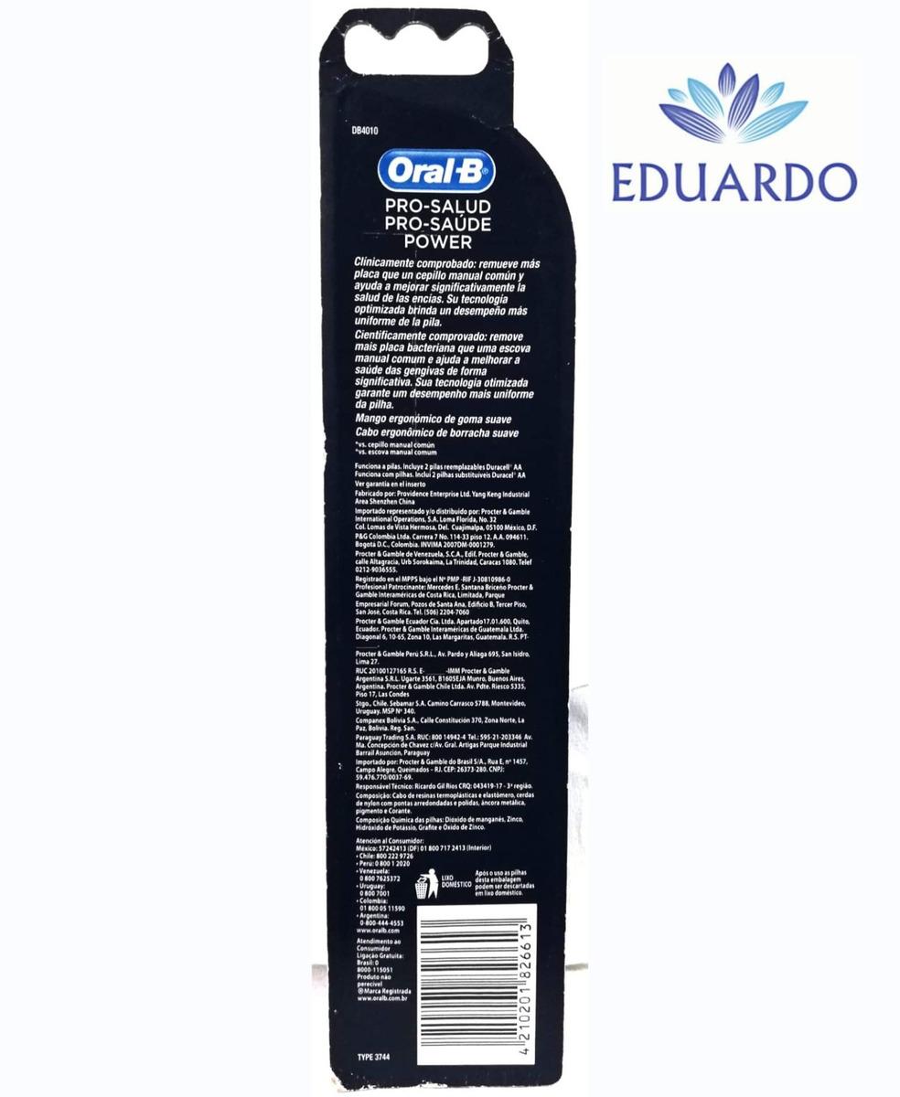 oral-b cepillo de dientes electrico pro-salud power y pilas. Cargando zoom. 0ab61bcd12ff