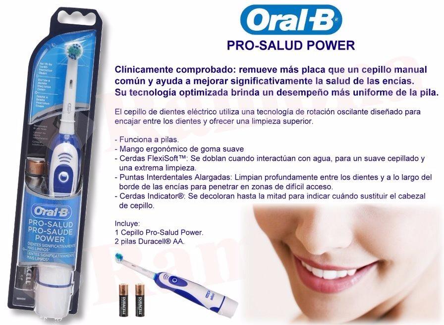 oral b cepillo dental electrico pro salud power. Cargando zoom. 4da758df0ce2