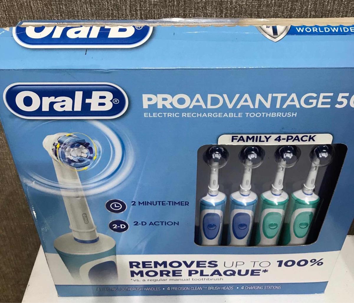 oral b proadvantage 500 cepillo de dientes eléctricos 4 pack. Cargando zoom. 7bfa48a0a247