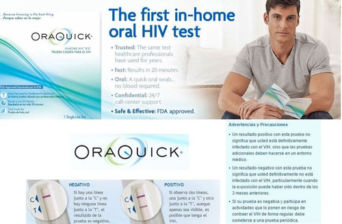 oraquick prueba casera para detectar vih