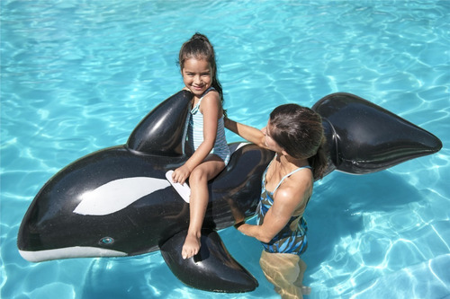 orca inflable bestway 2.03x1.02mts